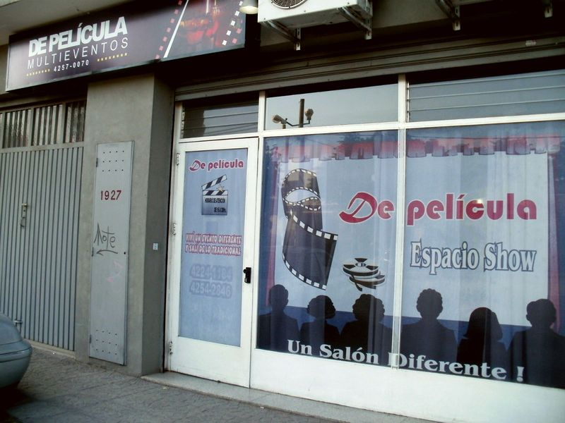 Salon de pelicula